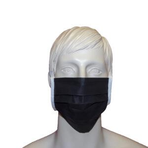 Mund-und Nasenmaske schwarz
