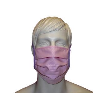 Mund-und Nasenmaske rosa